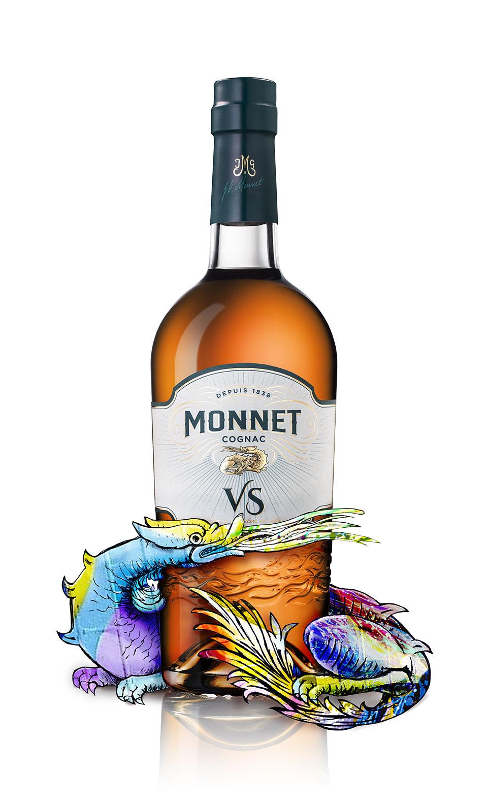 Megusta Monnet Cognac Histoire d'une renaissance VS